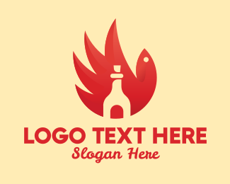 Chili - Chicken Wing Hot Sauce logo design