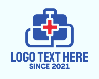 Healthcare - Medical Healthcare Kit logo design