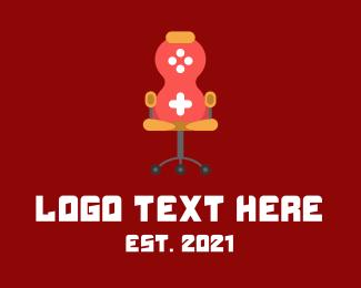 Chair - Gaming Console Chair  logo design