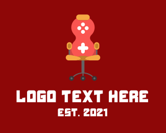 Console - Gaming Console Chair logo design