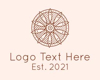 Wooden - Wooden Fish Buckler logo design