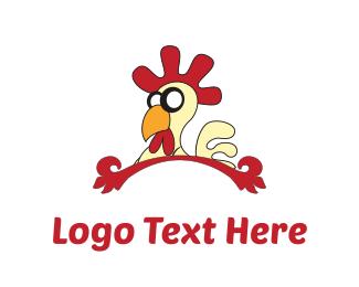 """""""Chicken Cartoon"""" by SkylineChange"""
