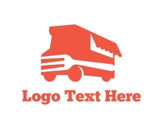 Fast Food - Fork Truck logo design