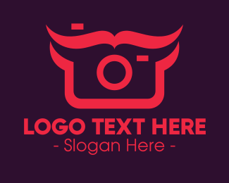 Photograph - Digital Camera Man logo design