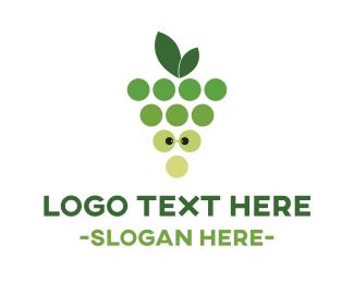 Nerd - Green Nerd Grapes logo design
