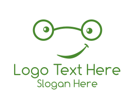 Nice - Cute Geek logo design
