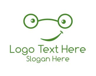 Geek - Cute Geek logo design