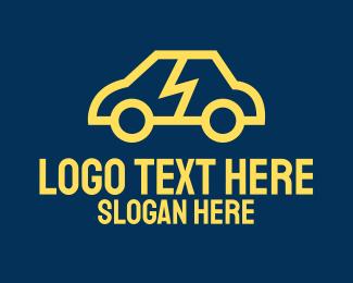 Car Repair - Smart Electric Car logo design