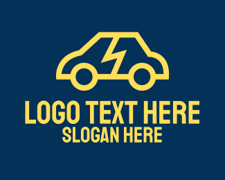 Electric Car - Smart Electric Car logo design