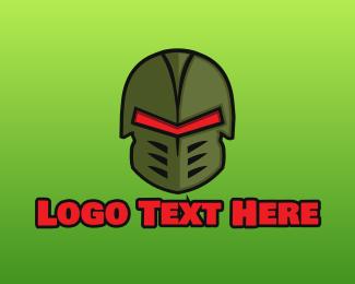 Esport - Esports Gaming Warrior Helmet logo design