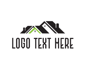 Tradesman - Green Roof logo design