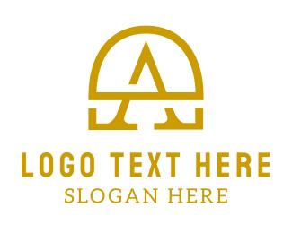 Investment Bank - Gold A Chest  logo design