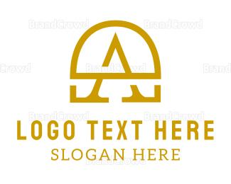 Lawyer - Gold A Chest  logo design