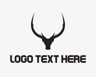 Horns - Black Bull logo design