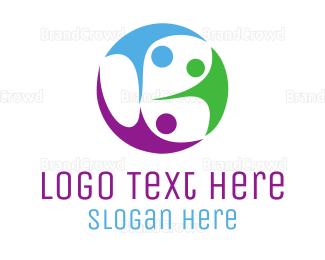 Trio - Family Community logo design