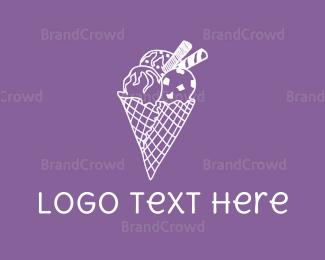 Cone - Ice Cream  logo design