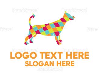 Dog Walking - Diamond Dog logo design