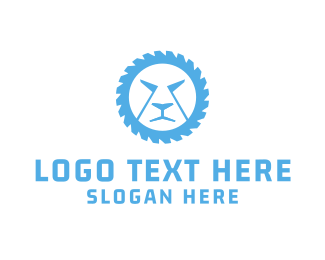 Wheel - Lion Wheel logo design