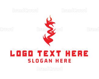 Predator - Devil Snake logo design