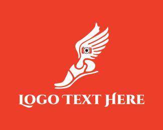 Shoe - Hermes Photography logo design