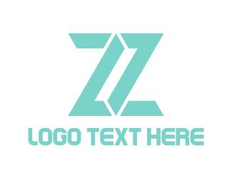 Letter Z - Mint Letter Z logo design