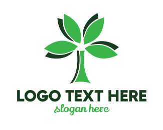Therapy - Organic Tree logo design