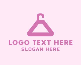 Showroom - Pink Hanger logo design
