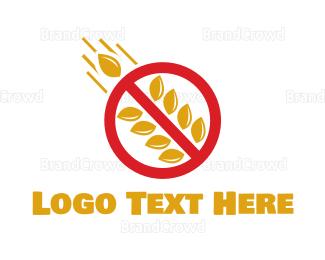 No - No Carbs logo design