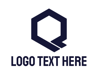 Mechanical - Hexagon Tech Q logo design