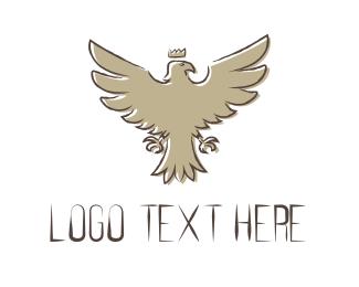 Whiskey - King Eagle logo design