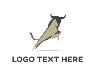 Strength - Wild Jump logo design