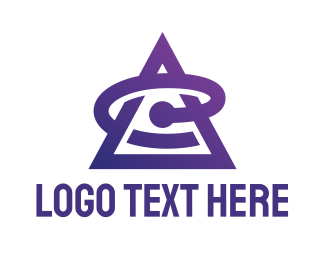 Online Shop - Business Triangle Letter E logo design
