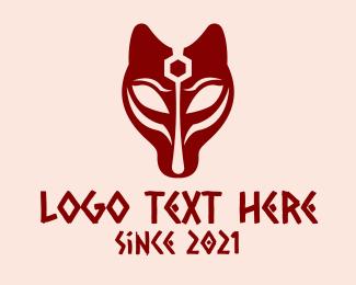 Egyptian - Red Egyptian Mythology logo design