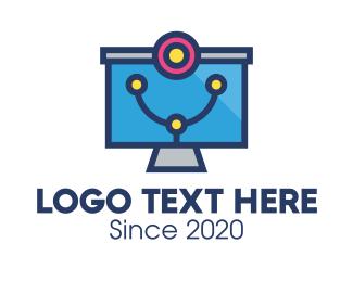 Medic - Medical Diagnostic Monitor logo design