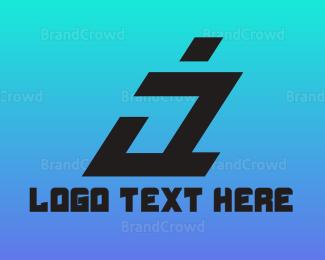 Cryptic - Modern Italic A logo design