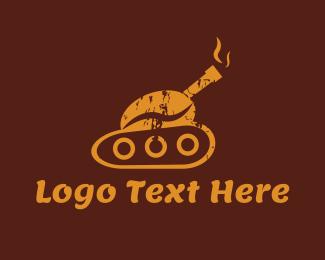 Coffee Shop - Coffee Tank logo design