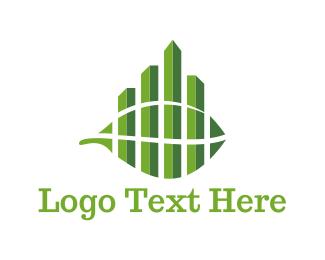 Urban - Green City logo design