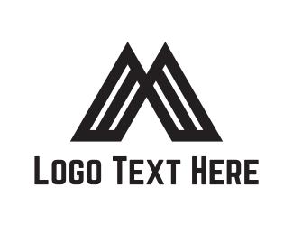 Volcano - Volcano Letter M logo design