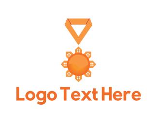 Achievement - Broker Medal logo design