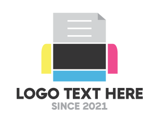 Stationery - Robo Print logo design