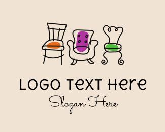 Fancy - Fancy Chair Furniture logo design