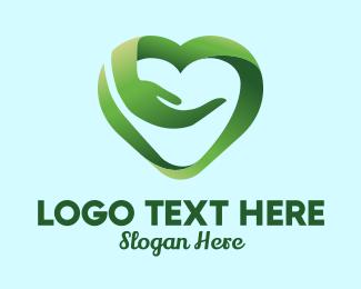 Cardiology - Caregiver Heart logo design