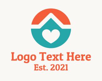 Real Estate - Loving Home logo design