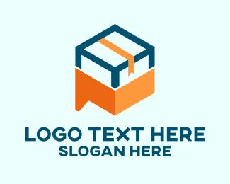 Delivery Service - Cargo Box Delivery logo design