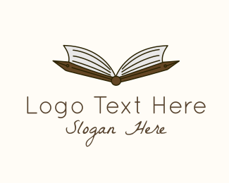 Pen - Academic Pen Book logo design