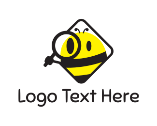 Bumblebee - Spy Bee logo design