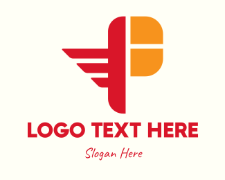 Pilot - Pilot Wings Letter P logo design