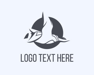 Goose - Duck Circle logo design