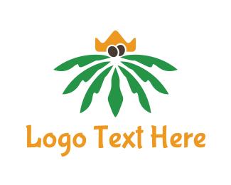 Palm - Palm King logo design