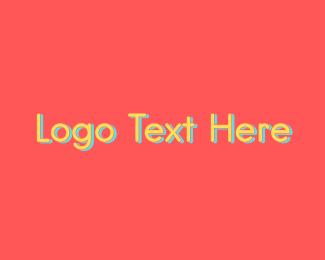 School - Yellow School Wordmark logo design